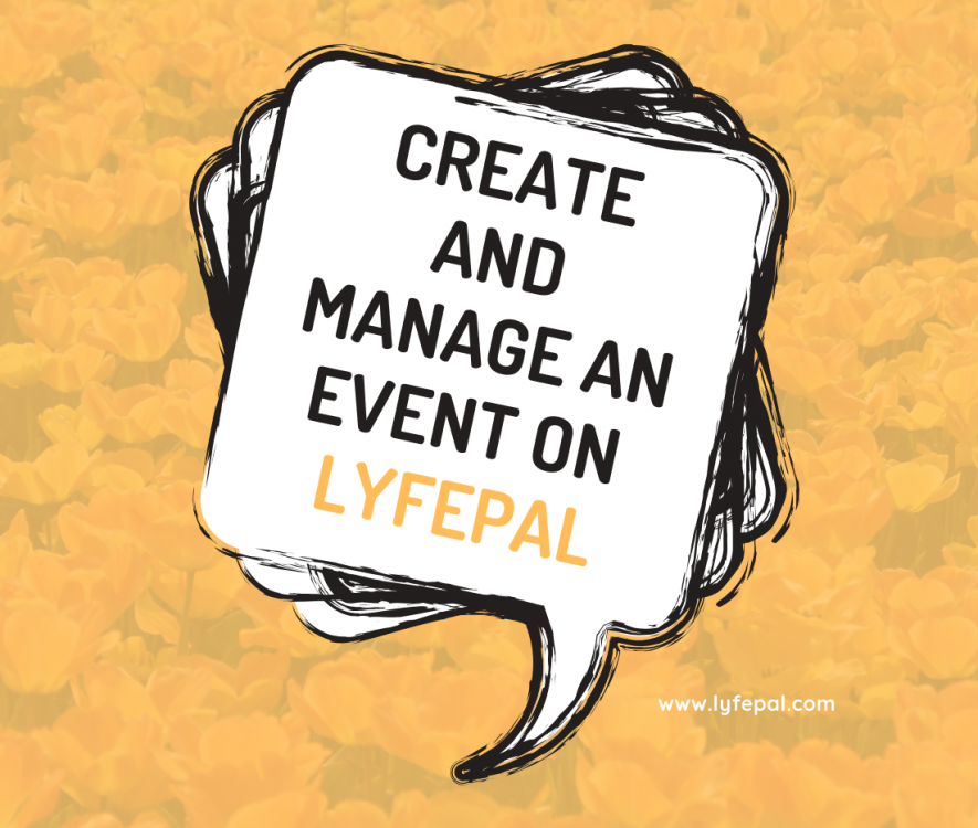 Create and Manage an Event