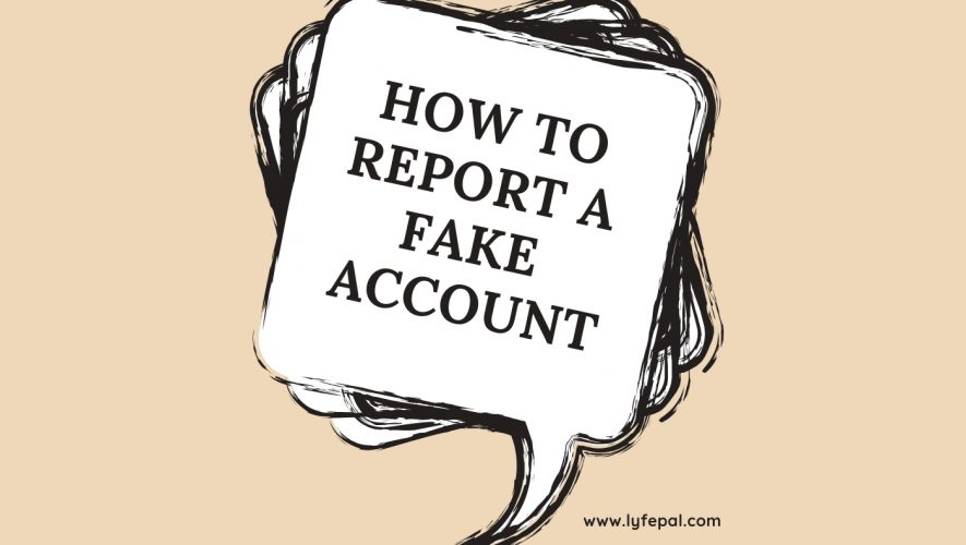 How to report a fake account