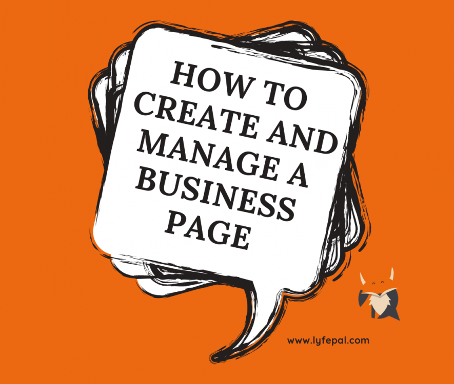 How To Create And Manage A Business Page